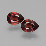 thumb image of 1.7ct Pear Facet Red Pyrope Garnet (ID: 453412)