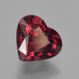 thumb image of 2.1ct Heart Facet Red Pyrope Garnet (ID: 456080)