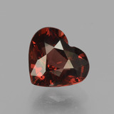 thumb image of 1.5ct Heart Facet Red Pyrope Garnet (ID: 456090)
