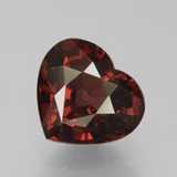 thumb image of 2.1ct Heart Facet Red Pyrope Garnet (ID: 456094)