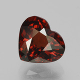 thumb image of 1.8ct Heart Facet Red Pyrope Garnet (ID: 456095)