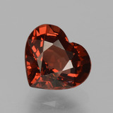 thumb image of 1.6ct Heart Facet Red Pyrope Garnet (ID: 456147)