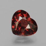 thumb image of 1.6ct Heart Facet Red Pyrope Garnet (ID: 456148)