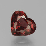 thumb image of 1.6ct Heart Facet Red Pyrope Garnet (ID: 456149)