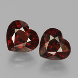 thumb image of 4.4ct Heart Facet Red Pyrope Garnet (ID: 456152)