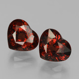 thumb image of 3.9ct Heart Facet Red Pyrope Garnet (ID: 456156)