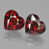 thumb image of 4.8ct Heart Facet Red Pyrope Garnet (ID: 456232)