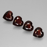 thumb image of 2.7ct Heart Facet Red Pyrope Garnet (ID: 456304)