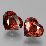 thumb image of 3.6ct Heart Facet Red Pyrope Garnet (ID: 456345)