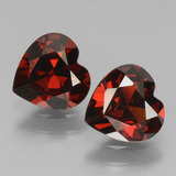 thumb image of 1.6ct Heart Facet Red Pyrope Garnet (ID: 456538)