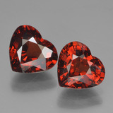 thumb image of 3.2ct Heart Facet Red Pyrope Garnet (ID: 456643)