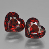thumb image of 4.8ct Heart Facet Red Pyrope Garnet (ID: 456645)