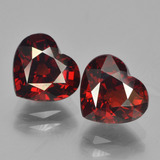 thumb image of 4.8ct Heart Facet Red Pyrope Garnet (ID: 456649)