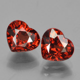 thumb image of 3.4ct Heart Facet Red Pyrope Garnet (ID: 456650)