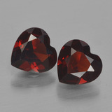 thumb image of 1.5ct Heart Facet Red Pyrope Garnet (ID: 456687)