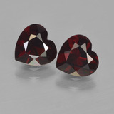 thumb image of 1.7ct Heart Facet Deep Red Pyrope Garnet (ID: 456704)