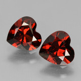 thumb image of 1.4ct Heart Facet Red Pyrope Garnet (ID: 456726)