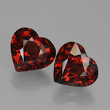 thumb image of 3.7ct Heart Facet Red Pyrope Garnet (ID: 456737)