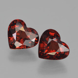 thumb image of 3ct Heart Facet Red Pyrope Garnet (ID: 456740)