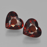 thumb image of 3.3ct Heart Facet Red Pyrope Garnet (ID: 456743)