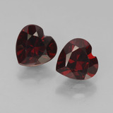 thumb image of 1ct Heart Facet Red Pyrope Garnet (ID: 457023)