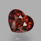 thumb image of 1.8ct Heart Facet Red Pyrope Garnet (ID: 457036)