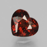 thumb image of 1.5ct Heart Facet Red Pyrope Garnet (ID: 457038)