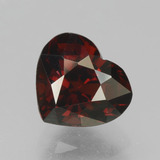 thumb image of 2ct Heart Facet Red Pyrope Garnet (ID: 457041)