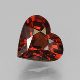 thumb image of 1.5ct Heart Facet Red Pyrope Garnet (ID: 457045)