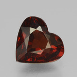 thumb image of 1.8ct Heart Facet Red Pyrope Garnet (ID: 457046)