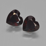 thumb image of 1.6ct Heart Facet Red Pyrope Garnet (ID: 457145)