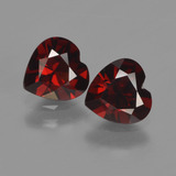 thumb image of 1.8ct Heart Facet Red Pyrope Garnet (ID: 457221)