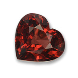 thumb image of 1.8ct Heart Facet Red Pyrope Garnet (ID: 457252)