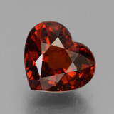 thumb image of 1.8ct Heart Facet Red Pyrope Garnet (ID: 457254)