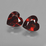 thumb image of 1.6ct Heart Facet Red Pyrope Garnet (ID: 457281)