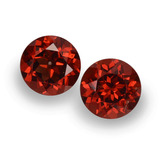 thumb image of 1.9ct Round Facet Red Pyrope Garnet (ID: 457468)