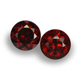 thumb image of 2ct Round Facet Red Pyrope Garnet (ID: 457480)