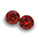thumb image of 2ct Round Facet Red Pyrope Garnet (ID: 457488)