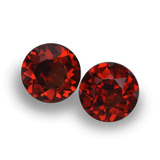 thumb image of 2.1ct Round Facet Red Pyrope Garnet (ID: 457517)