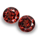 thumb image of 1.9ct Round Facet Red Pyrope Garnet (ID: 457559)