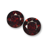thumb image of 2.3ct Round Facet Red Pyrope Garnet (ID: 457586)