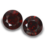 thumb image of 2.2ct Round Facet Deep Red Pyrope Garnet (ID: 457600)