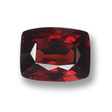 thumb image of 3.7ct Cushion-Cut Red Pyrope Garnet (ID: 460131)