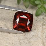 thumb image of 2.9ct Cushion-Cut Red Pyrope Garnet (ID: 460367)