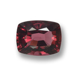 thumb image of 3ct Cushion-Cut Red Pyrope Garnet (ID: 460368)