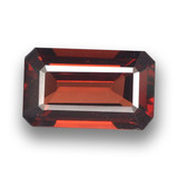 thumb image of 3.2ct Octagon Step Cut Red Pyrope Garnet (ID: 460562)