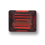 thumb image of 3.3ct Octagon Step Cut Red Pyrope Garnet (ID: 462126)