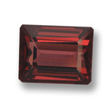 thumb image of 3.7ct Octagon Step Cut Red Pyrope Garnet (ID: 462181)