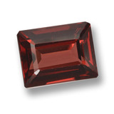 thumb image of 3.1ct Octagon Step Cut Red Pyrope Garnet (ID: 462183)