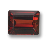 thumb image of 3.7ct Octagon Step Cut Red Pyrope Garnet (ID: 462184)